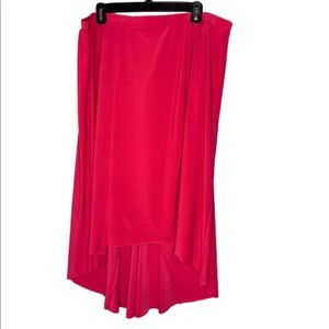 NWT Fushia high low skirt